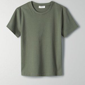 Aritzia Babaton Dillon Soft Cotton T-Shirt